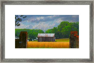 Gods Country Framed Print by Trish Clark