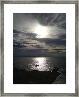 God's Creativity Framed Print by Michael McKenzie
