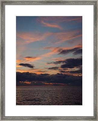 Framed Print featuring the photograph God's Evening Painting by Bonfire Photography