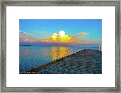 Gods' Painting Framed Print