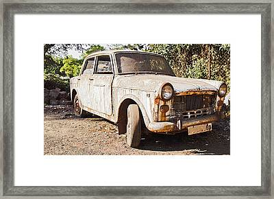 Goes Like The Clappers Framed Print by Kantilal Patel