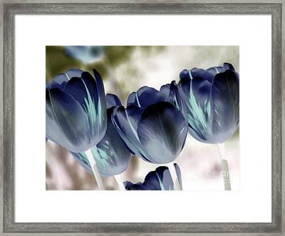 Going Blue Framed Print