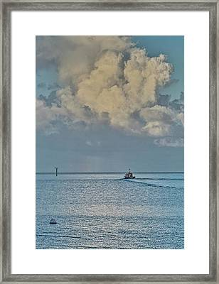 Going Fishing Framed Print by Jocelyn Kahawai