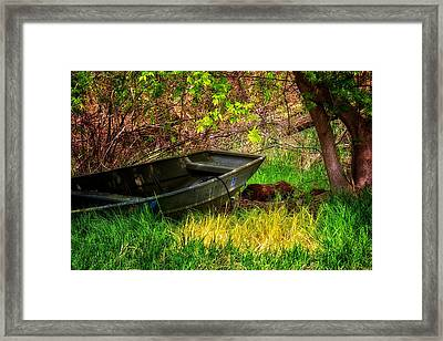 Framed Print featuring the photograph Going Fishing by Joe Urbz