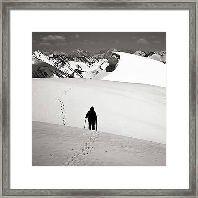 Going Forward Framed Print by Konstantin Dikovsky