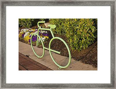 Framed Print featuring the photograph Going Green by Marianne Campolongo