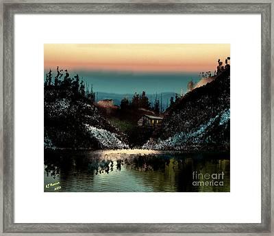Going Home Framed Print by Arne Hansen