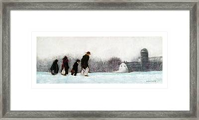 Going Home Framed Print by Barry Rothstein