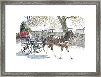 Going Home Framed Print by Western Roundup