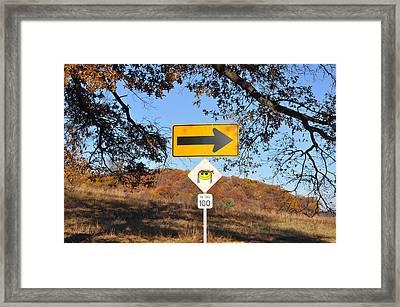 Going My Way Framed Print by Bill Cannon