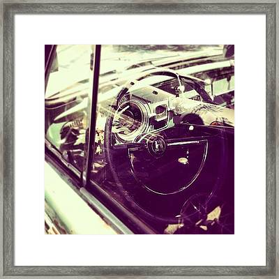 Going Places Framed Print by Gwyn Newcombe