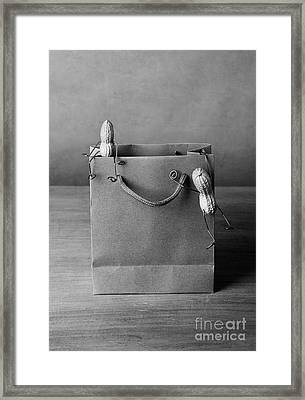 Going Shopping 01 Framed Print by Nailia Schwarz