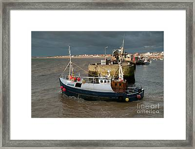 Going To Catch Lobsters Framed Print by David  Hollingworth
