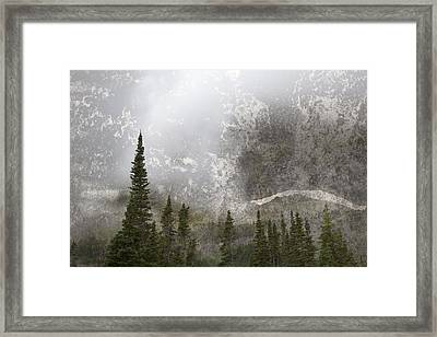 Going To The Sun Road Framed Print by John Stephens