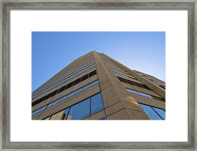 Framed Print featuring the photograph Going Up by JM Photography