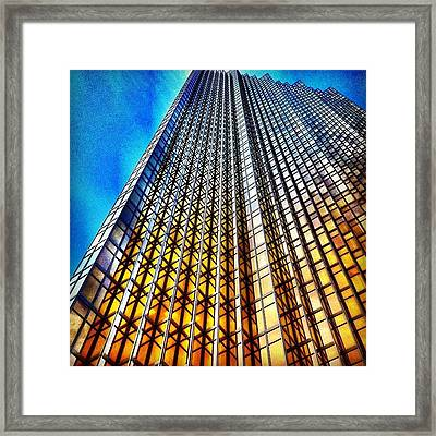 Gold Fade Framed Print by Christopher Campbell