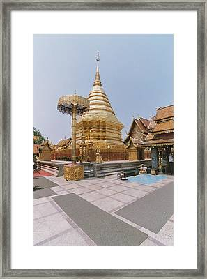 Gold Framed Print