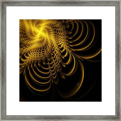 Gold Lame' Framed Print by Karla White