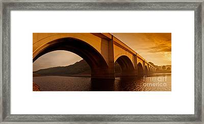 Golden Arches Framed Print by Nigel Hatton