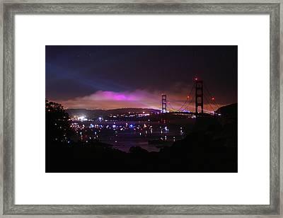 Golden Gate 75th Anniversary 1 Framed Print
