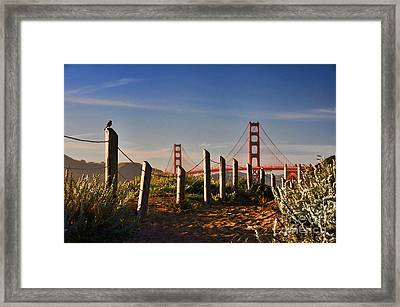 Golden Gate Bridge - 2 Framed Print