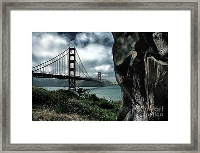 Golden Gate Bridge - 4 Framed Print