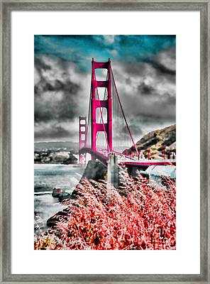 Golden Gate Bridge - 5 Framed Print