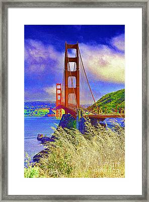 Golden Gate Bridge - 6 Framed Print