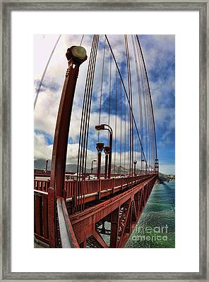 Golden Gate Bridge - 7 Framed Print