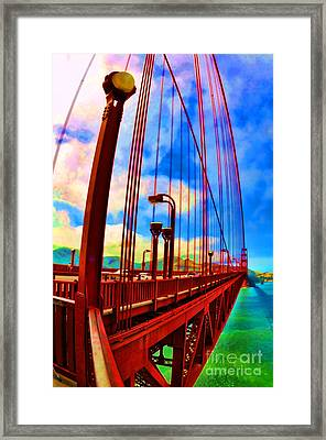 Golden Gate Bridge - 8 Framed Print