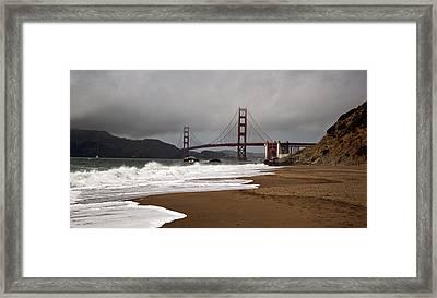 Golden Gate Bridge Framed Print by Gary Rose