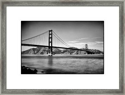 Golden Gate Bridge Framed Print by Tanya Harrison