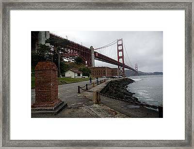 Golden Gate Framed Print by Gary Rose
