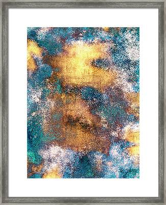 Golden Globe Framed Print by Carly Ralph