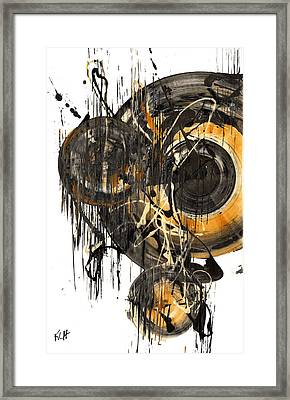 Framed Print featuring the painting Golden Glow  69.041611 by Kris Haas