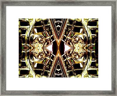 Golden Harmony Framed Print by Rom Galicia