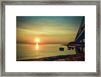 Golden Hour Framed Print by Jason Naudi Photography