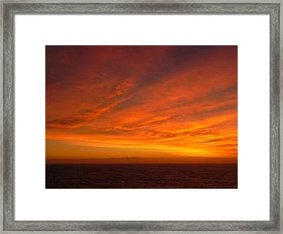 Golden Hour Framed Print by Leah Moore