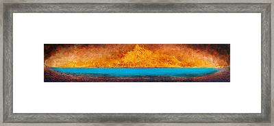 Golden Island  Framed Print by Mauro Celotti