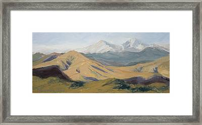 Golden Morning Framed Print by Mary Giacomini