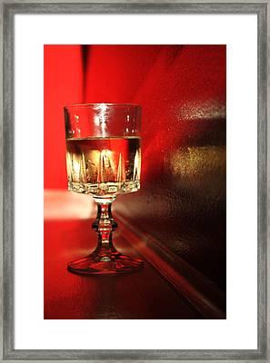 Golden Reflections Framed Print by Lauri Novak