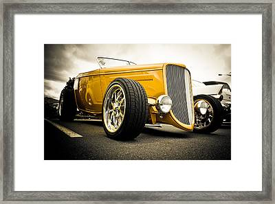 Golden Rod Framed Print by Phil 'motography' Clark