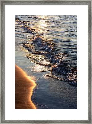 Golden Sand Framed Print