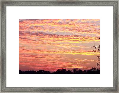 Golden Sunset 002 Framed Print by George Bostian