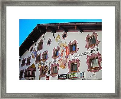 Goldener Greif ... Framed Print by Juergen Weiss