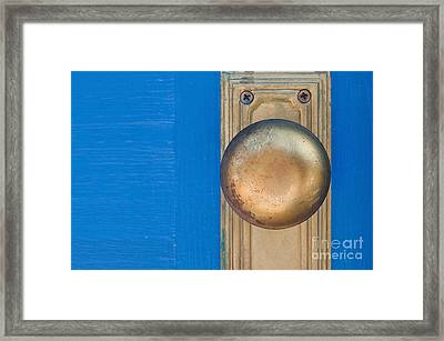 Goldenknob Framed Print by Dan Holm