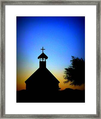 Goldfield Ghost Town Framed Print by Joe Johansson