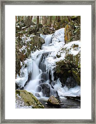 Goldmine Falls Framed Print