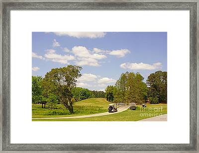Golf At Calloway Gardens Framed Print