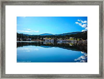 Framed Print featuring the photograph Golf Course by Shannon Harrington